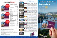 Prague Card Flyer 2018