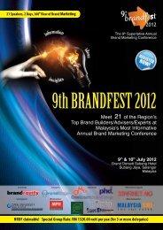 9th BRANDFEST 2012 - Brandedge Sdn Bhd