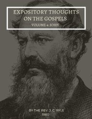The Gospel of John By J.C. ryle