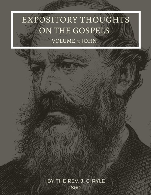 The Gospel of John By J.C. ryle