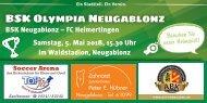 BSK Olympia Neugablonz - FC Heimertingen