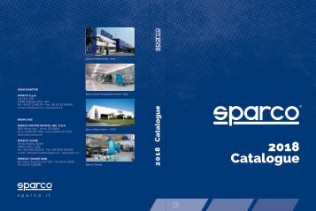 Cataloog Sparco 2018