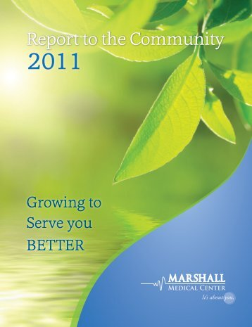 Selected Financial Information Fiscal Year ... - Marshall Hospital