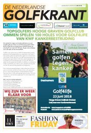 De Nederlands Golfkrant mei 2018