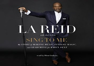 Sing to Me: My Story of Making Music, Finding Magic, and Searching for Who s Next  [NEWS]