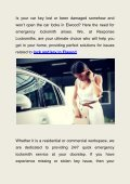 Efficient Emergency Locksmith Service Provider in Elwood - Page 2