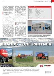 Brands - one partner - Agritechnica Trader