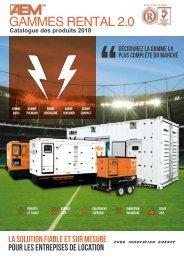 2018 - AEM Gamme Rental 2.0 catalogue - FR