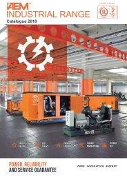2018 - AEM Industrial Range catalogue - EN