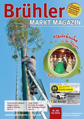 Brühler Markt Magazin April 2018