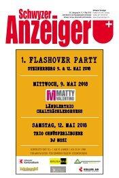 Schwyzer Anzeiger – Woche 18 – 4. Mai 2018