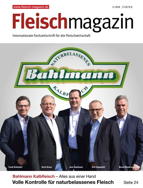 FleischMagazin 5/2018 - Titelgeschichte