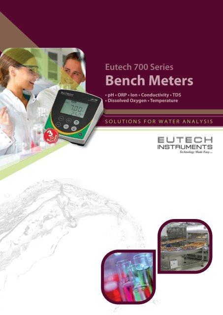Eutech 700 Series Bench Meters