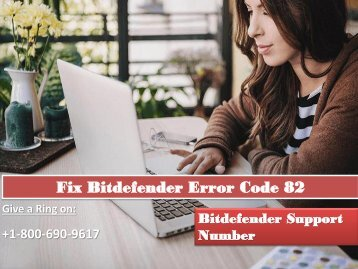 Fix Bitdefender Error Code 82