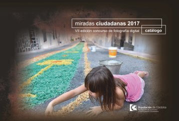 Catálogo Miradas Ciudadanas 2017