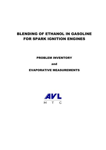 blending of ethanol in gasoline for spark ignition ... - Growth Energy