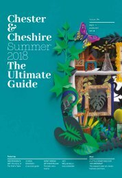 The Ultimate Guide to Chester and Cheshire -Summer Edition
