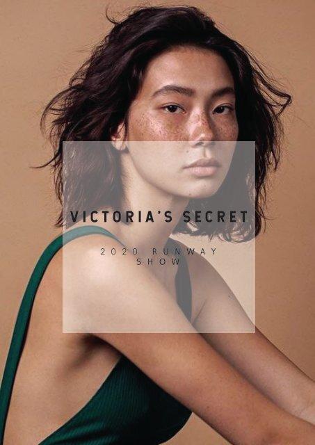 Victoria S Secret 2020 Runway Plan