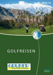 GRUBER Golfreisen 1112