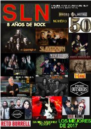 SOUNDS LIKE NEW Nº 50 (HEAVY AND HARD ROCK FANZINE)