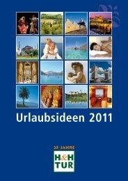 HHTUR Urlaubsideen 2011