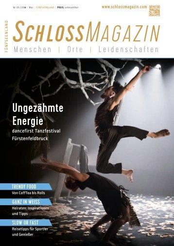 SchlossMagazin Fünfseenland Mai 2018