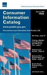 2002 Consumer Information Catalog - Energy Quest