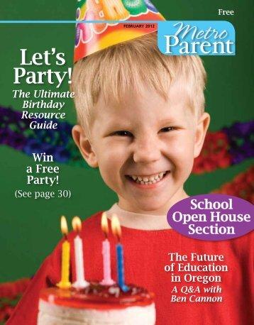 to View PDF. - Metro Parent