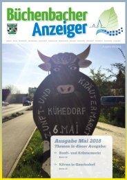 Mai 2018 - Büchenbacher Anzeiger