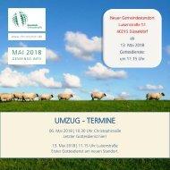 Gemeinde-Info Mai 2018