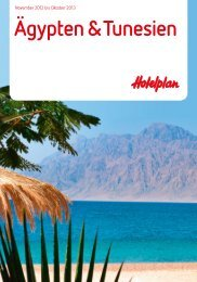 HOTELPLAN AegyptenTunesien 1213