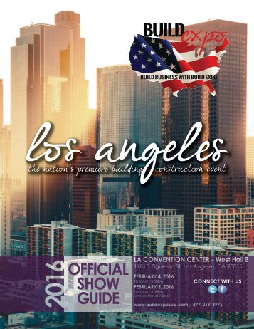 Los Angeles 2016 Build Expo Show Directory