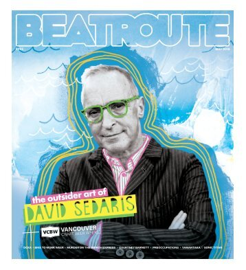 BeatRoute Magazine BC Print Edition May 2018