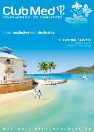 CLUBMED Sonnenresorts Wi1213