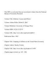 PDF (250 K) - The National Bureau of Economic Research