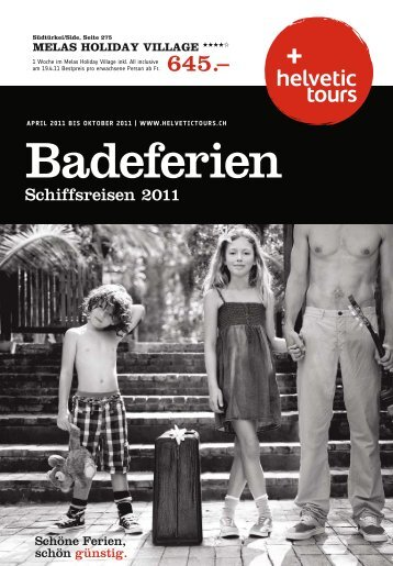 HELVETIC Badeferien So11