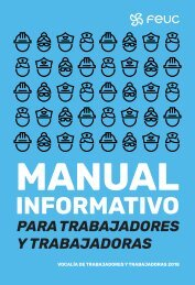 Manual Informativo para Trabajadores y Trabajadoras