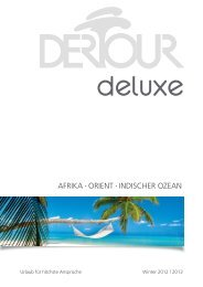 DERTOUR Deluxeafrikaorientindischerozean Wi1213
