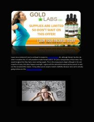 Gold Labs CBD - Review