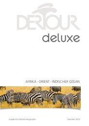 DERTOUR Deluxeafrikaorient So12