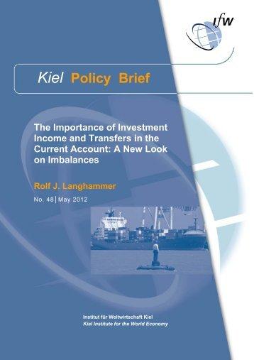 Kiel Policy Brief 48