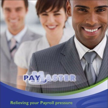 Relieving your Payroll pressure - Paymaster