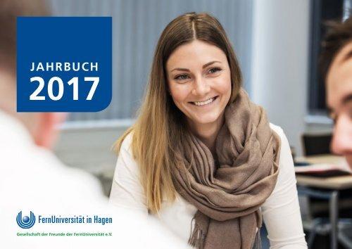 Jahrbuch 2017 der FernUniversität in Hagen