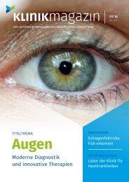UKJ-Klinikmagazin 1/2016