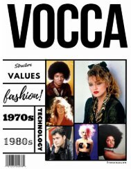 VOCCA MAGAZINE ISSUE 1