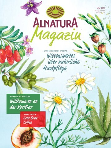 Alnatura Magazin Mai 2018