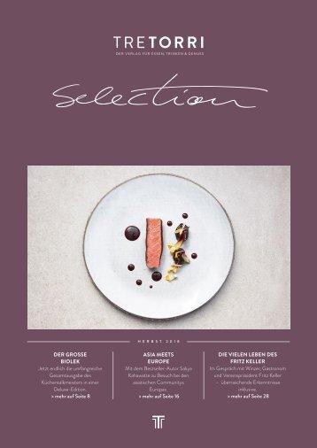 Tre Torri Verlagsprogramm - Selection - Herbst 2018