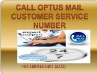 OPTUS Email Customer Support
