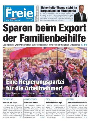 Sparen beim Export der Familienbeihilfe