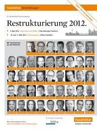Restrukturierung 2012. - Buth & Hermanns